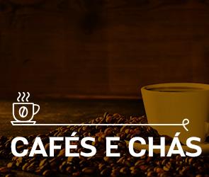 Cafés e Chás no Supermercado Tateno